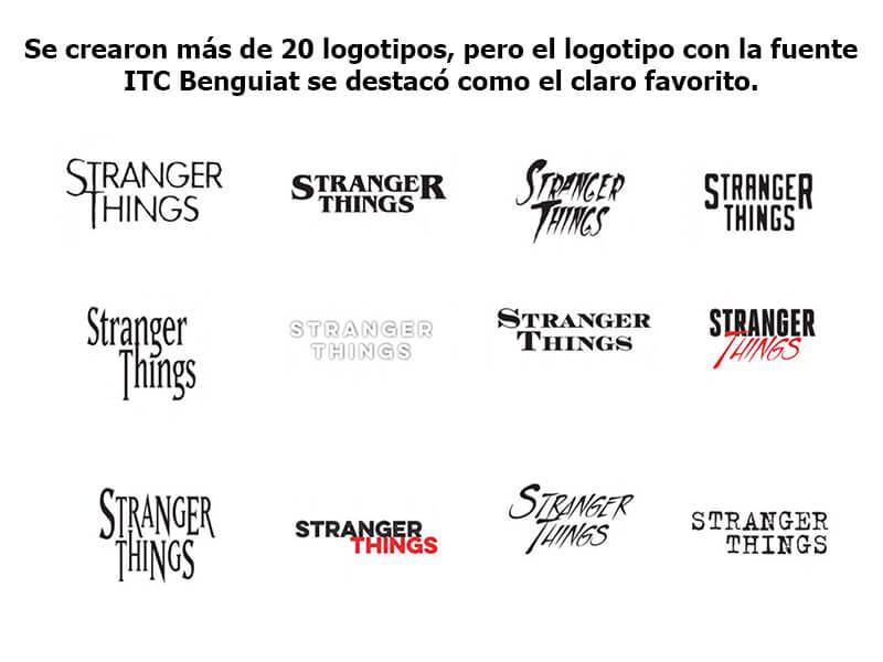Stranger Things - Logos