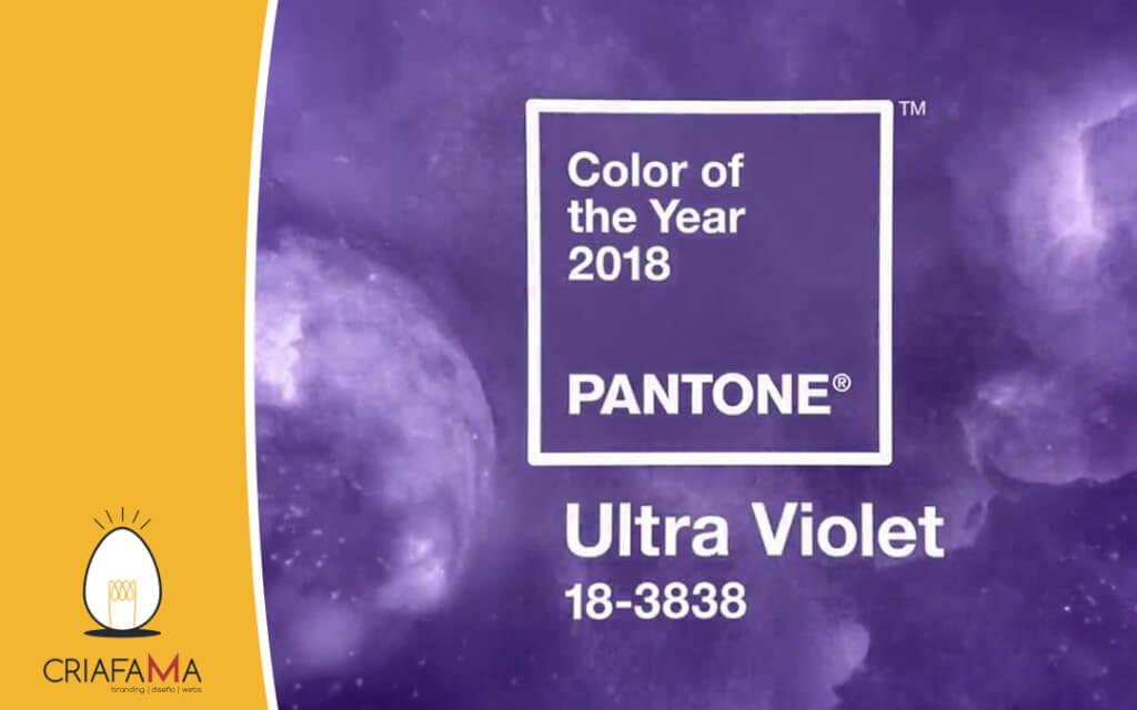 Pantone violeta como color de moda del 2018 – Logotipos morados