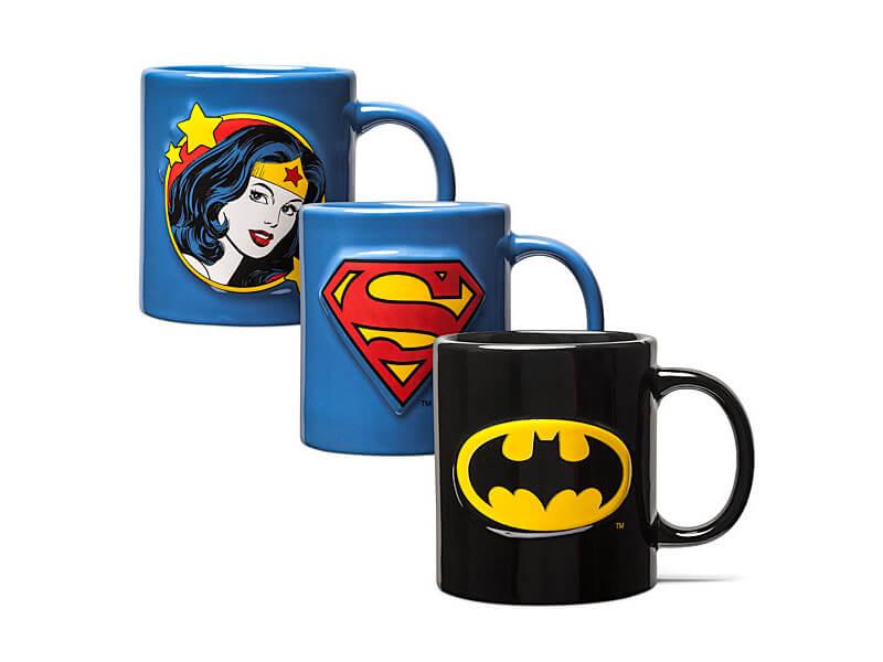 tazas DC Comics - Logos
