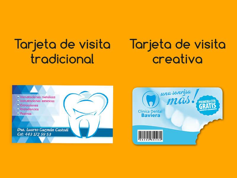 Papelería corporativa: tarjetas de visita