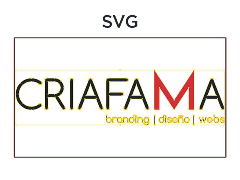 CRIAFAMA- SVG