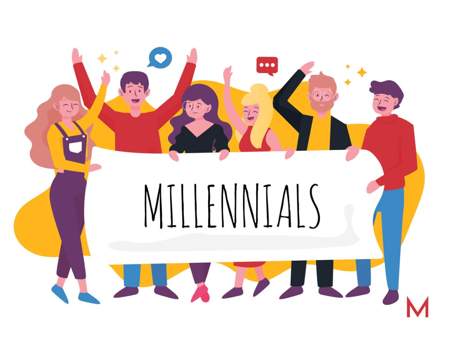 Publicidad para millennials