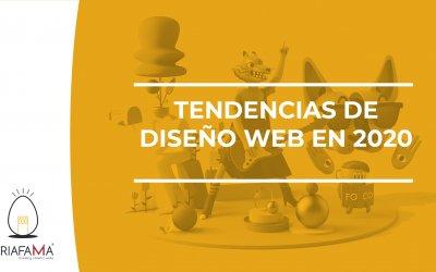 TENDENCIAS DE DISEÑO WEB EN 2020