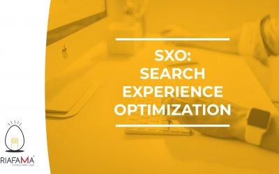 SXO: SEARCH EXPERIENCE OPTIMIZATION